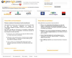 Refonte du site Provigis