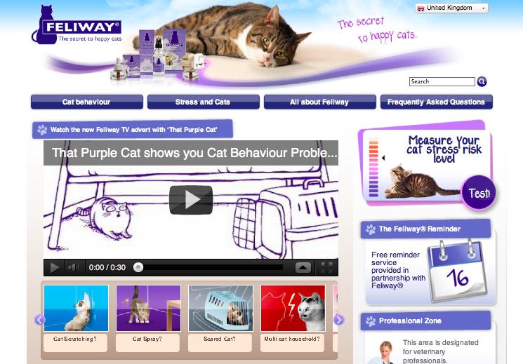 Screenshot de CEVA Feliway