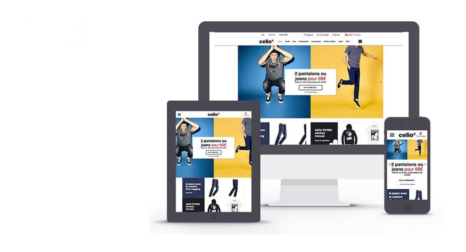 Refonte du <br>e-commerce celio.com