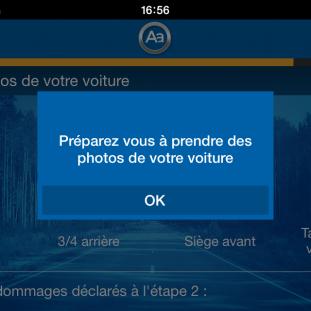 Application mobile Reprise AramisAuto