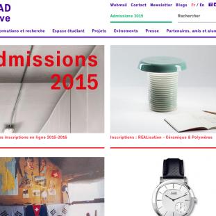 homepage-Nouvelle version du site de la HEAD