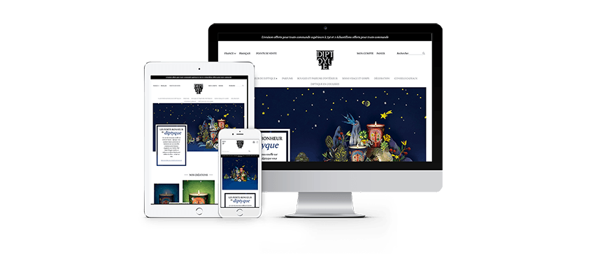 Redesign of the Diptyque e-commerce platform