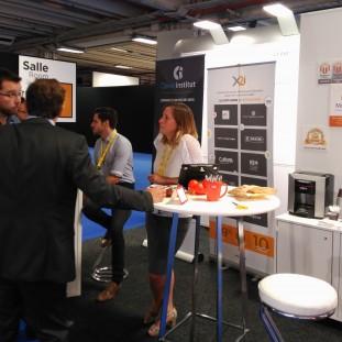 Stand X2i et Clever Institut lors de la Paris Retail Week