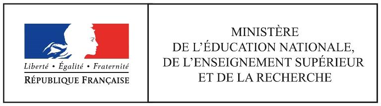 Ministre de l'Education nationale, de l'Enseignement supérieur et de la Recherche
