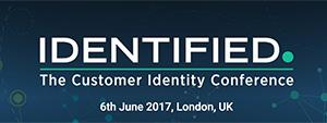 Identified – The Customer Identity Conference : Clever Age will be in London on June 6