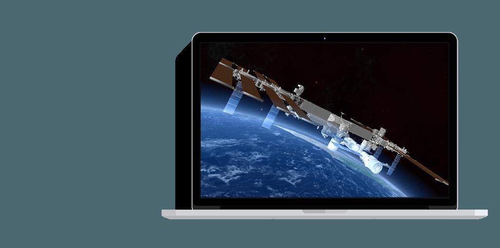 Application 3D </br> pour le CNES