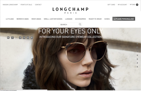 Making the Longchamp website accessible