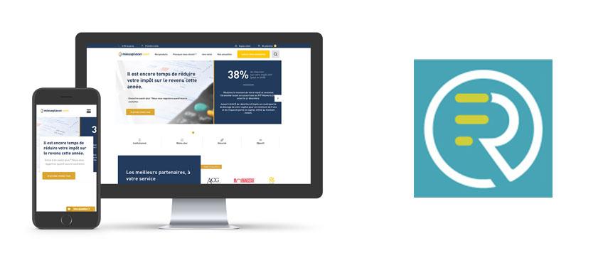 Création de la plateforme financière mieuxplacer.com