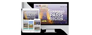 Mise en ligne du site VisitParisRégion