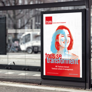 TSM affiche Campagne communication
