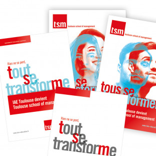 TSM print Campagne communication