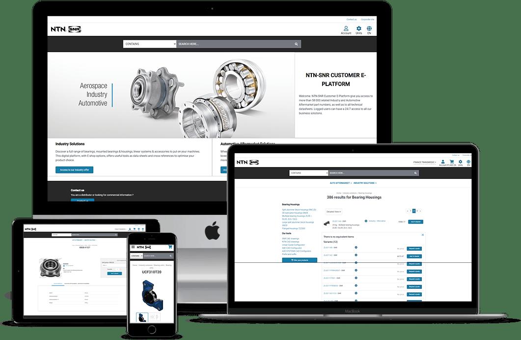 Refonte e-commerce NTN-SNR