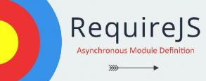 Le logo de RequireJS : une cible et une flèche